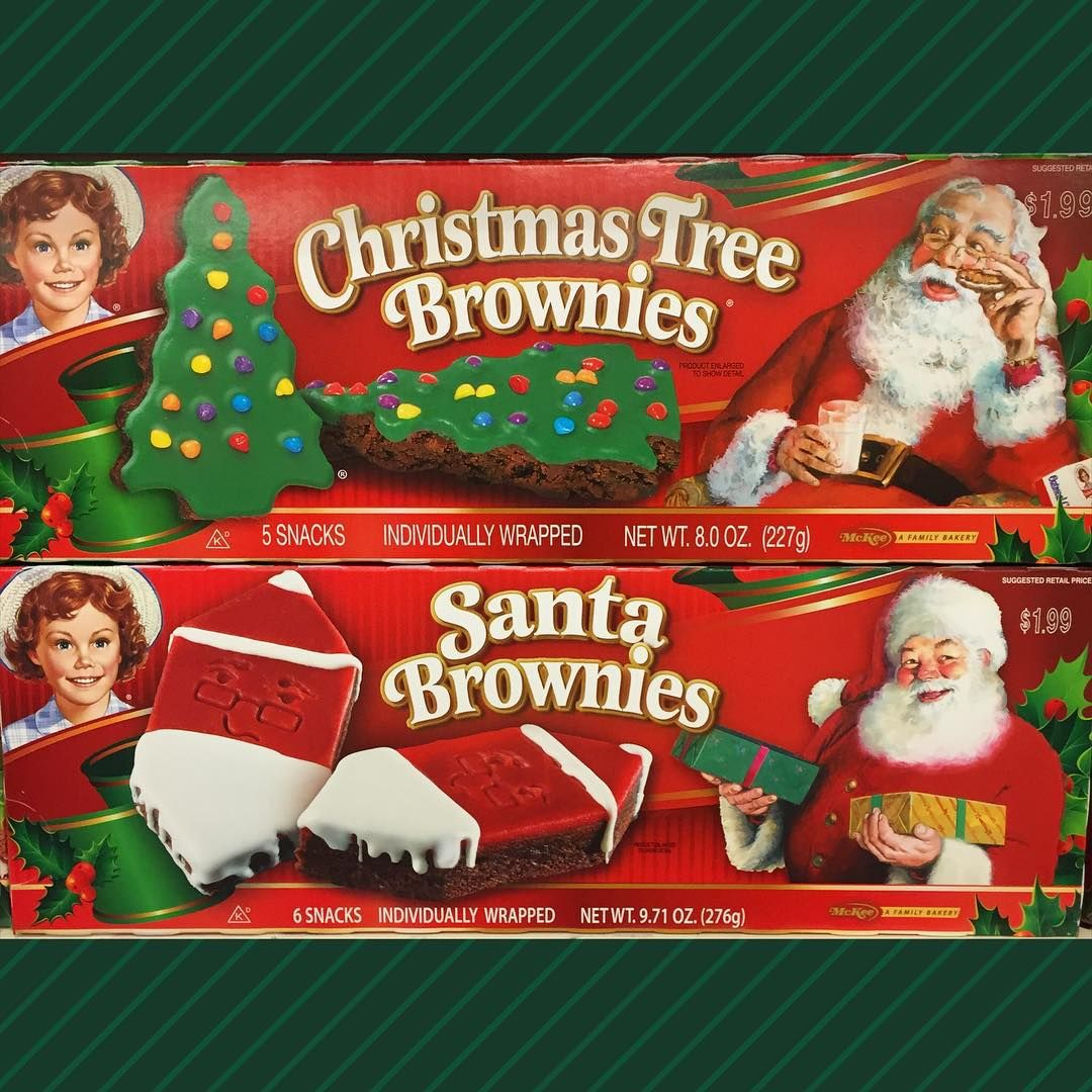 """""""Little Debbie Holiday Brownies are in stores now"""