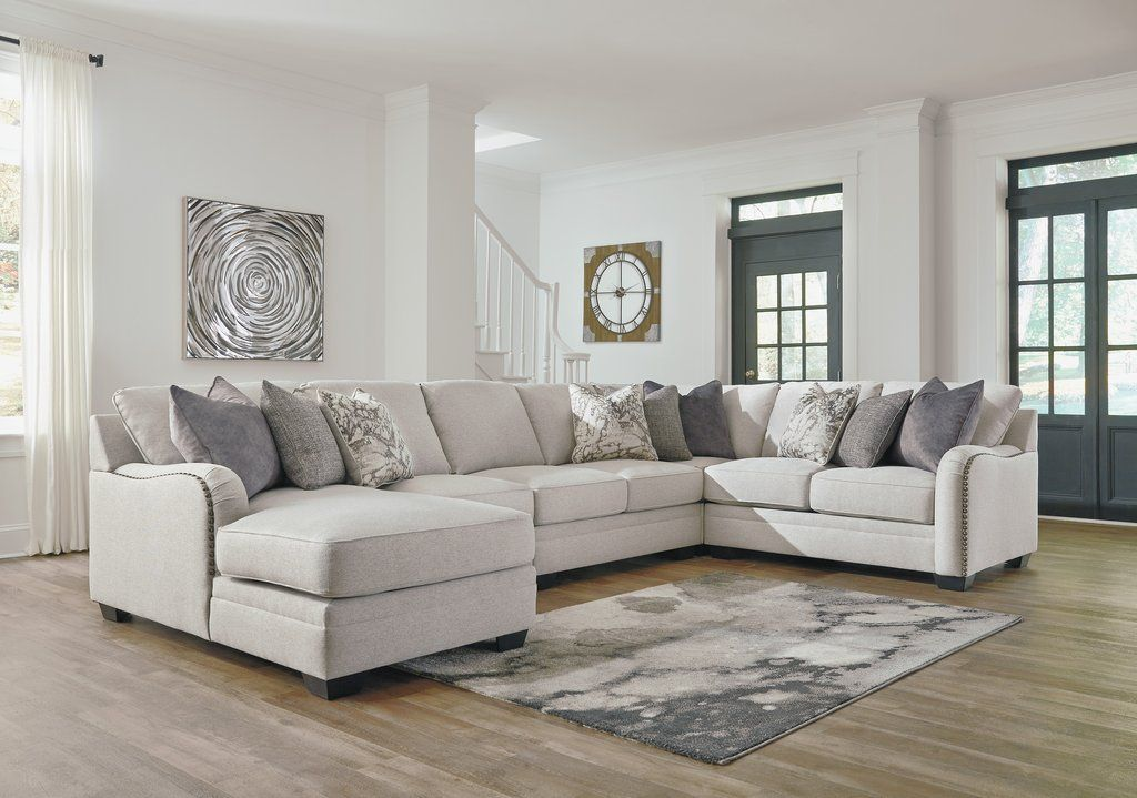 Ella Sectional in 2019 | apartment | Sectional ottoman ...