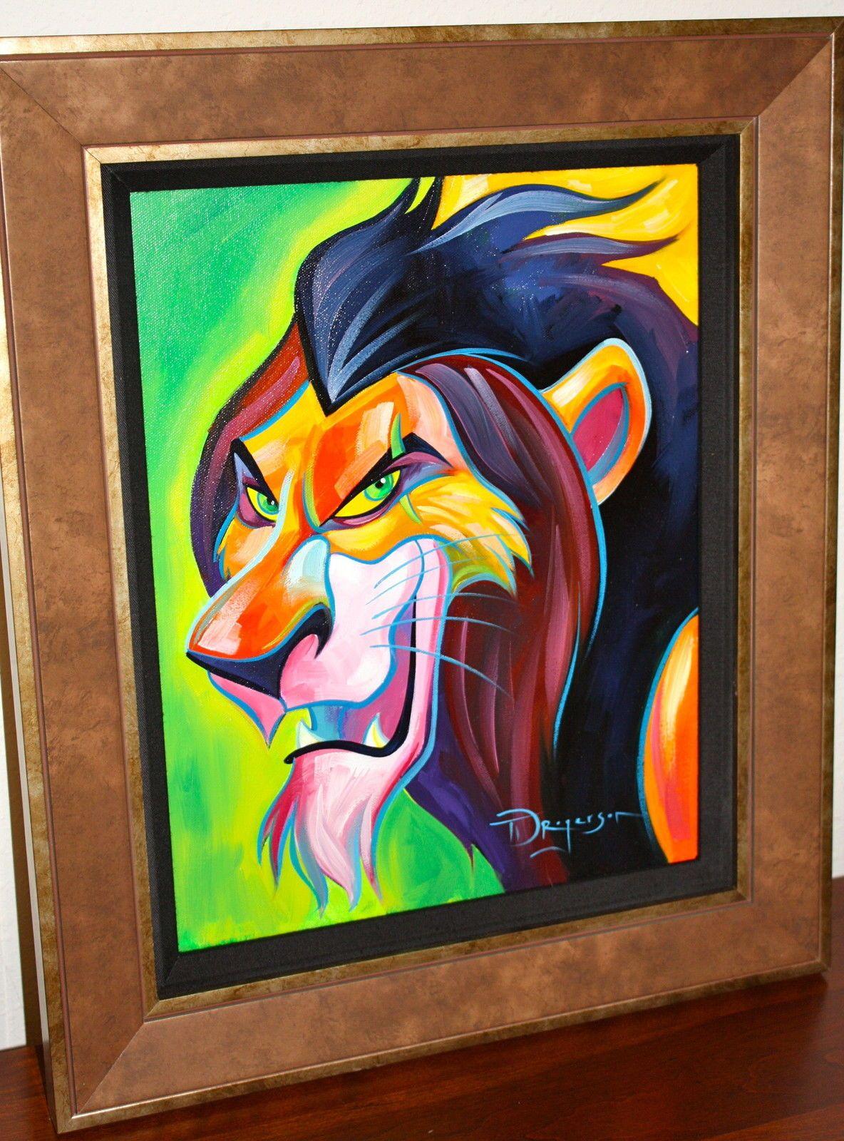 Disney Fine Art Oil Paintings Pics Pics