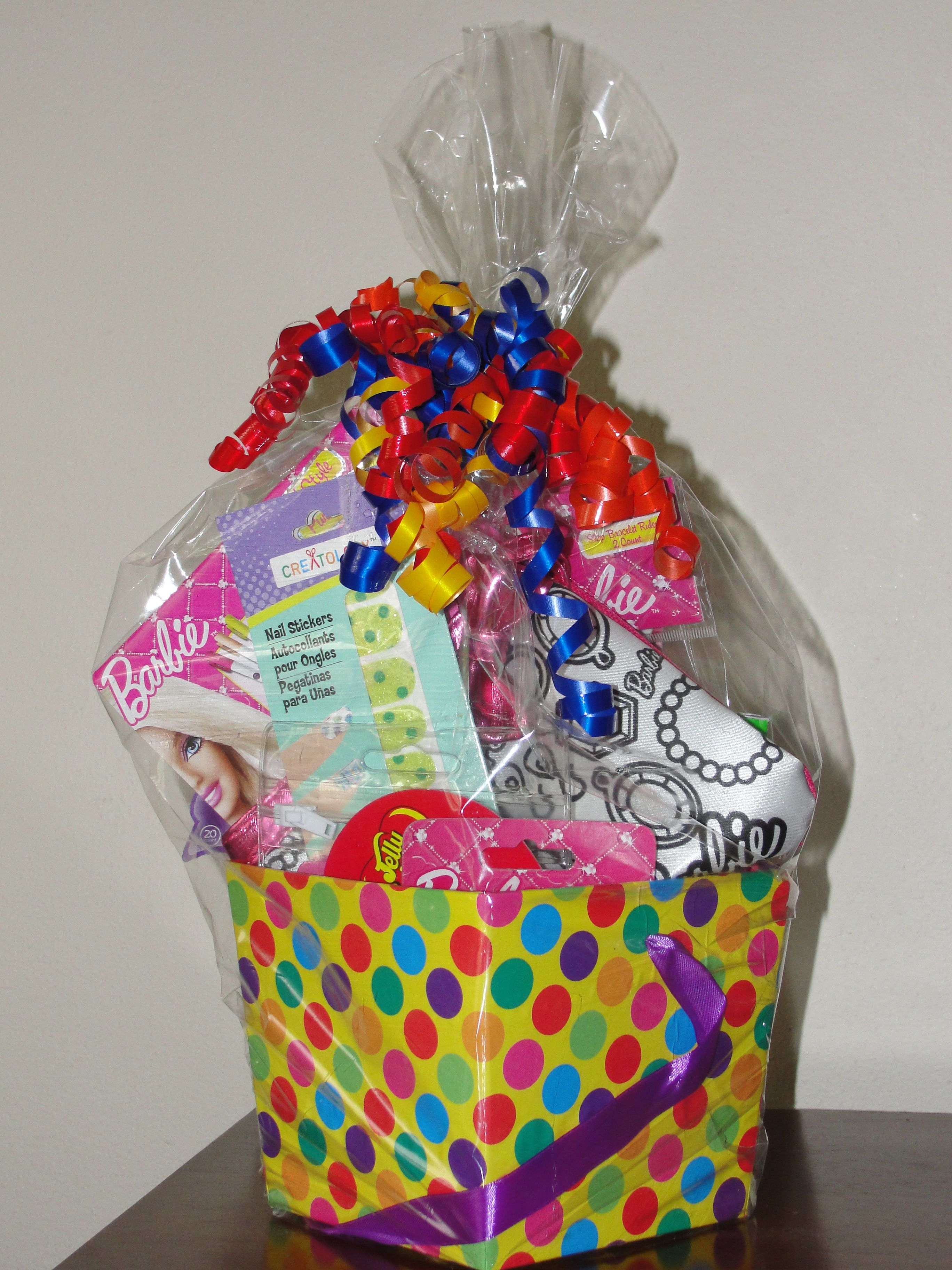 Kid Birthday Gift Basket Baskets Diy Kids Gifts