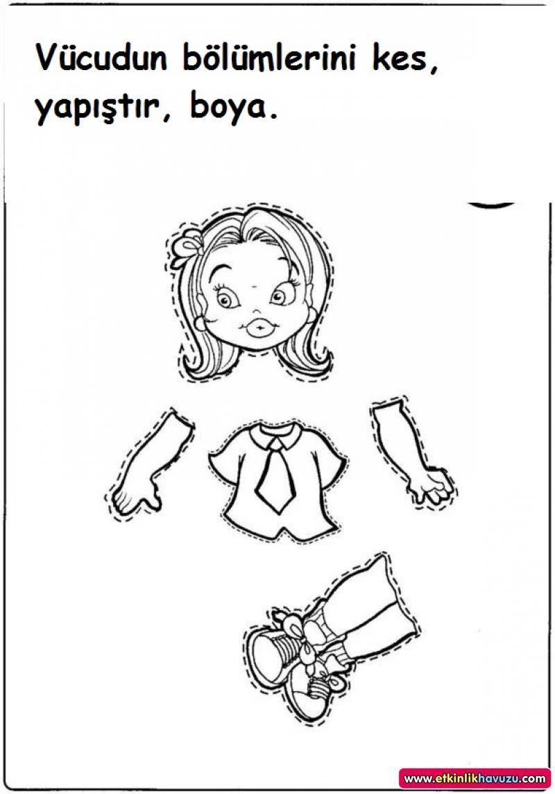 Okul öncesi Vücudumuz Googleda Ara Vücudumuz Montessori Ve