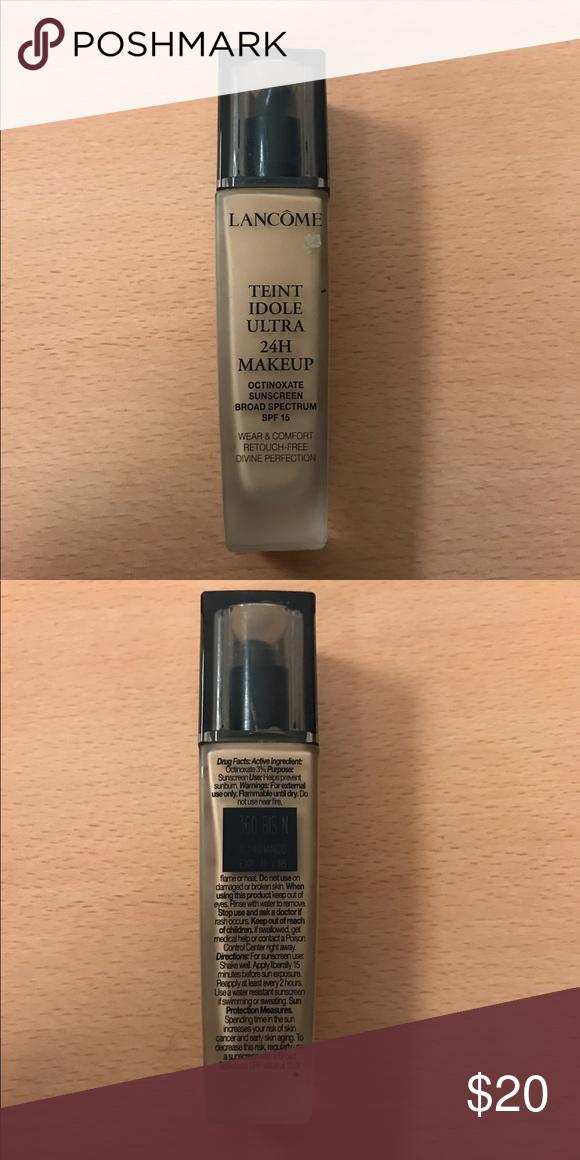 NEW Lancôme 24 H makeup (With images) makeup