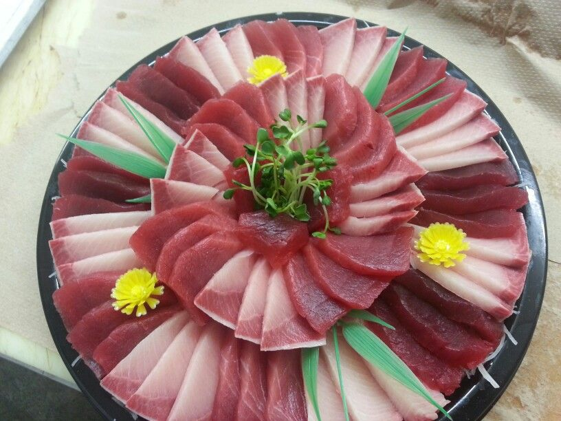 Ahi And Hamachi Sashimi Sashimi Platters By Hanzawa In 2019