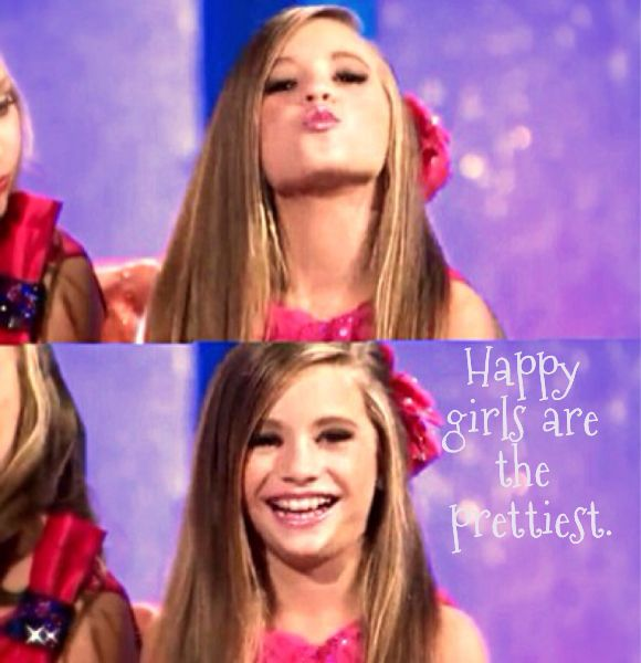 I loved Mackenzie's present Abby gave her on dance moms a puppy that's my favorite show