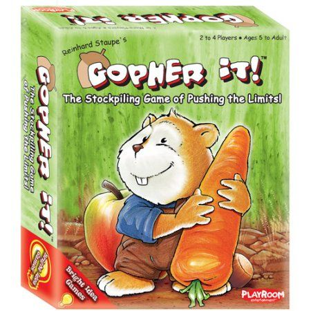 Playroom Entertainment Gopher It, Multicolor