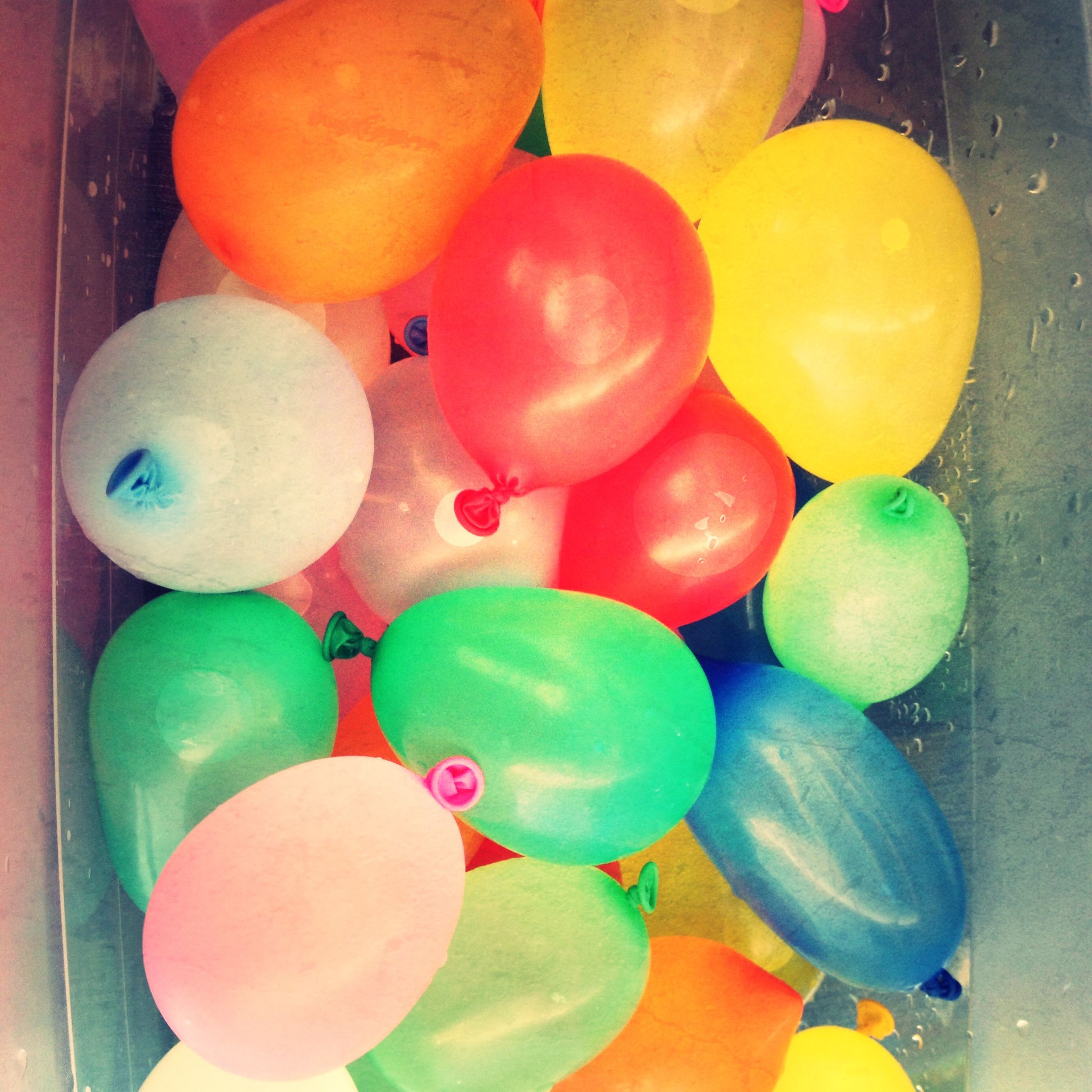 water balloons are fun for the whole family outdoor fun games