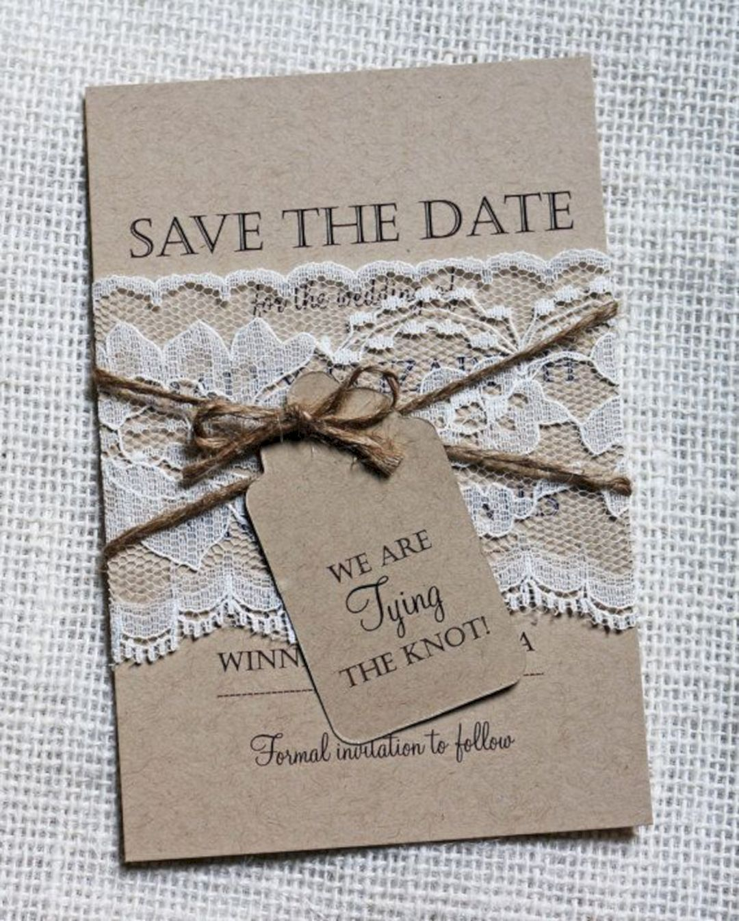 25 Unique Wedding Ideas To Get Inspire: Unique 5+ Rustic Save The Date Ideas To Inspire You