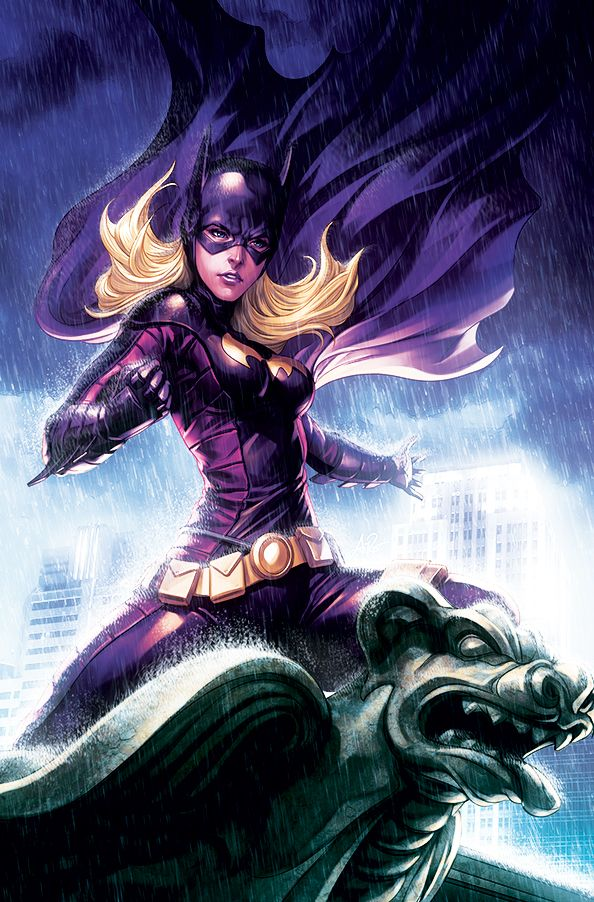 Stephanie Brown as Batgirl