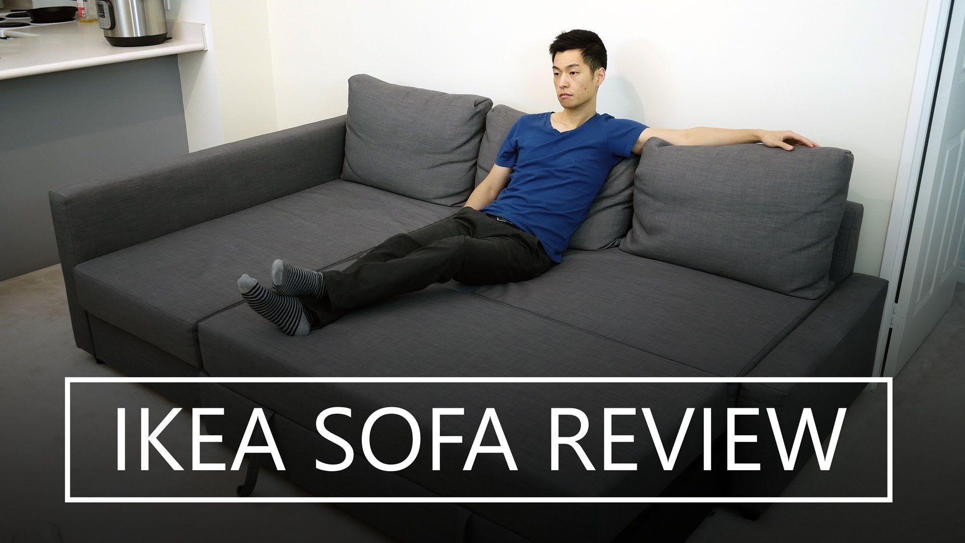 IKEA FRIHETEN Sofa Bed Review Friheten sofa, Ikea sofa, Sofa