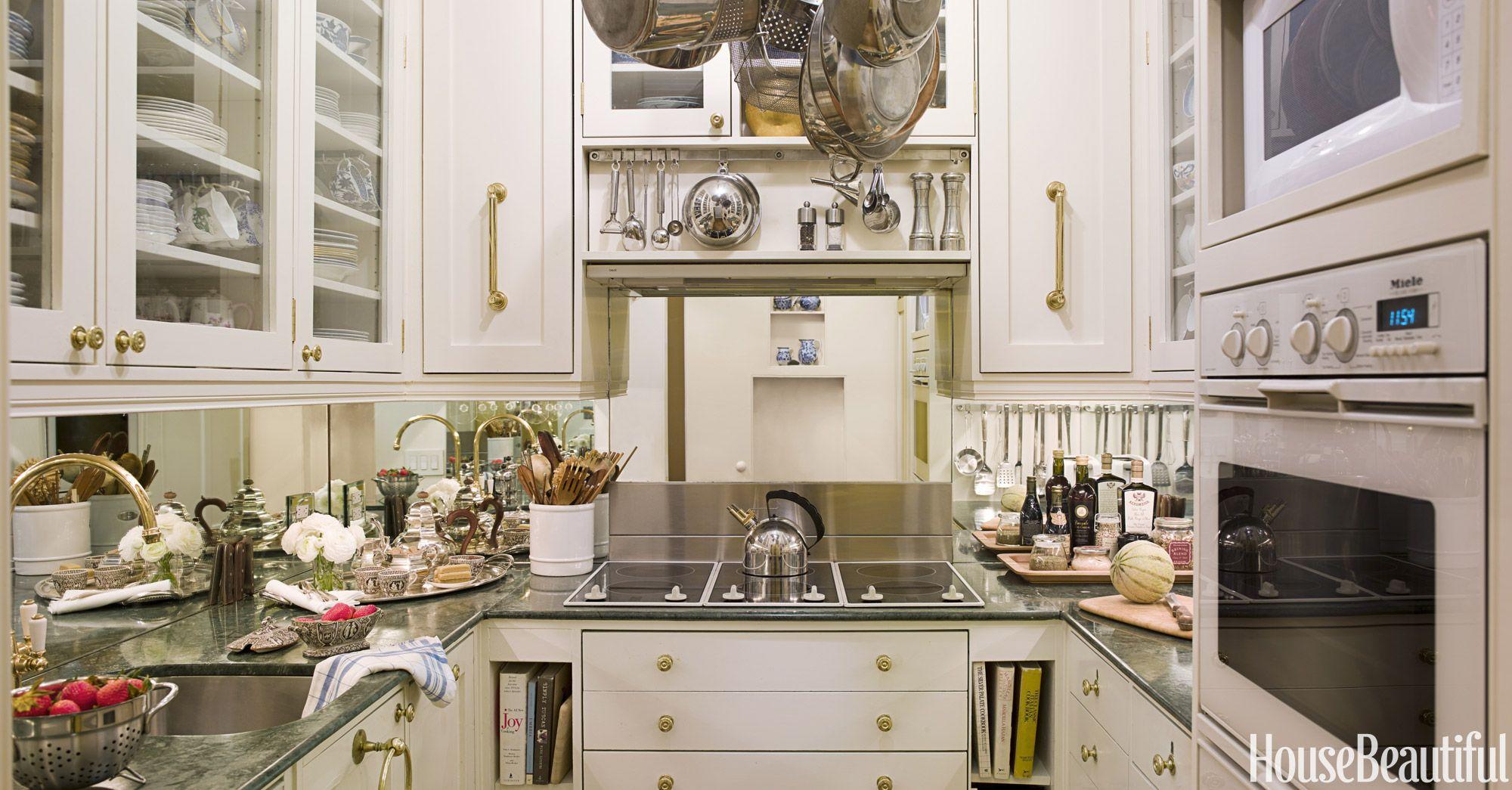 50 Small Kitchen Ideas That Won't Make You Feel