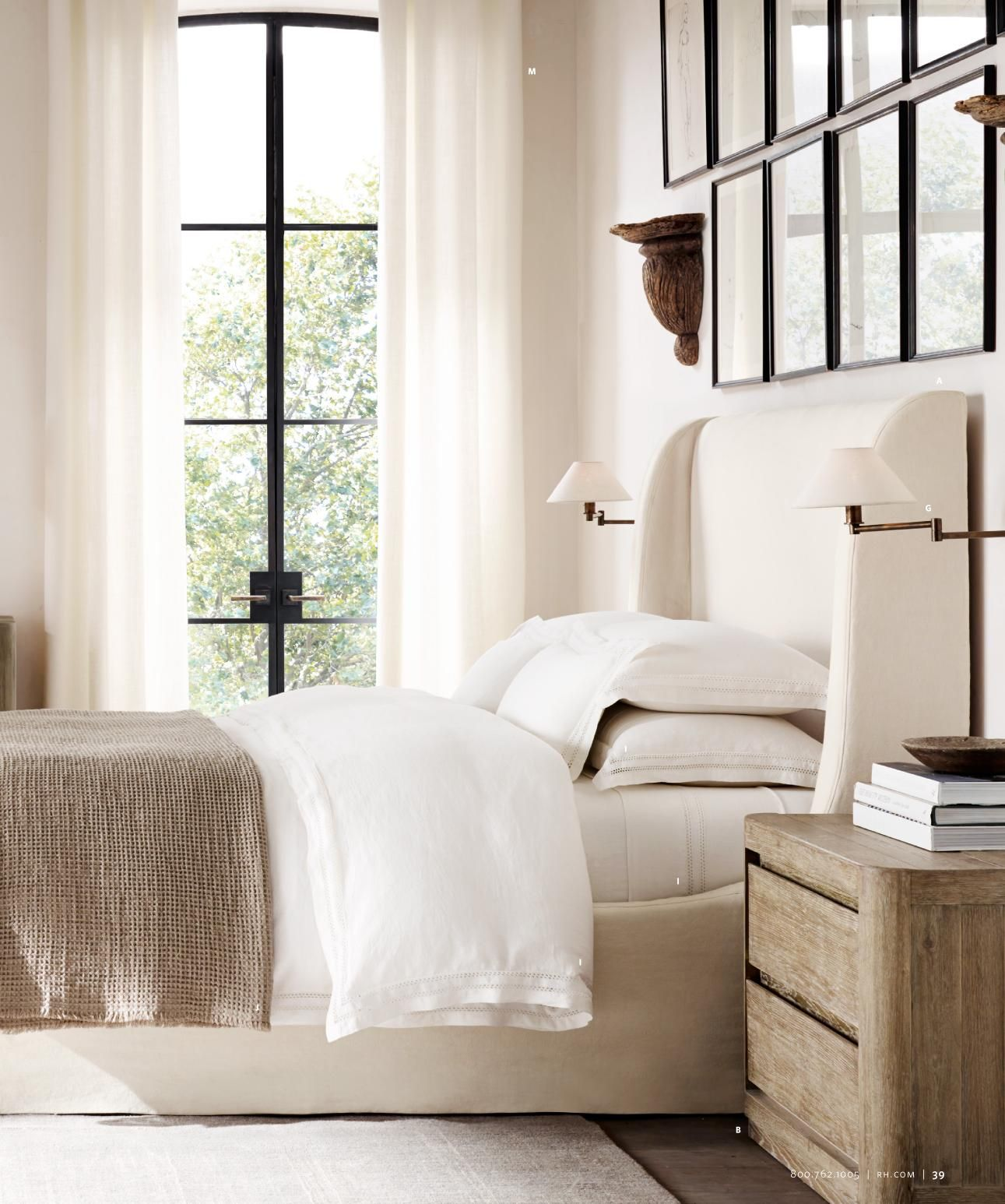 Restoration hardware bedroom - Restoration Hardware Has 2 New Catalogs Modern And Teens Both Great And Very Inspiring