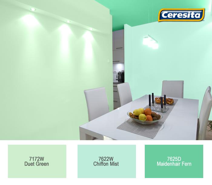 comedor #deco #decoración #Ceresita #CeresitaCL #PinturasCeresita ...