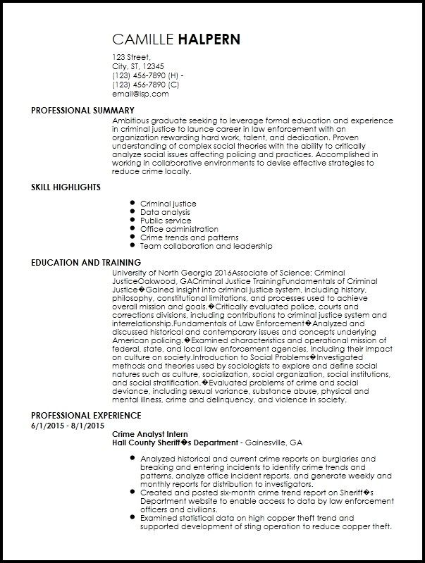 beautiful entry level resume template free idea di 2020