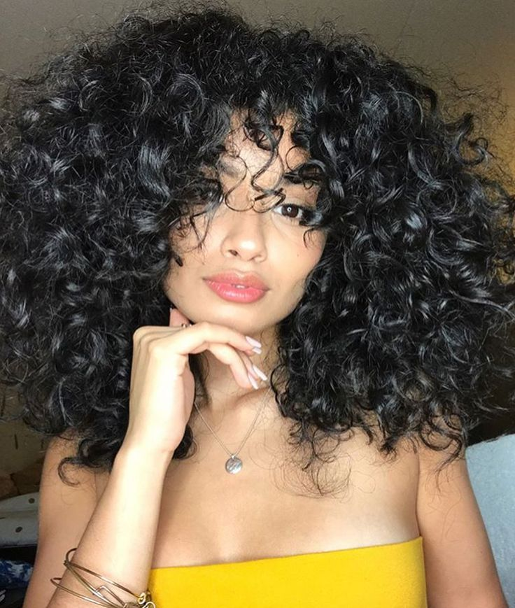 Virgin remy natural curly hair styles — photo 10