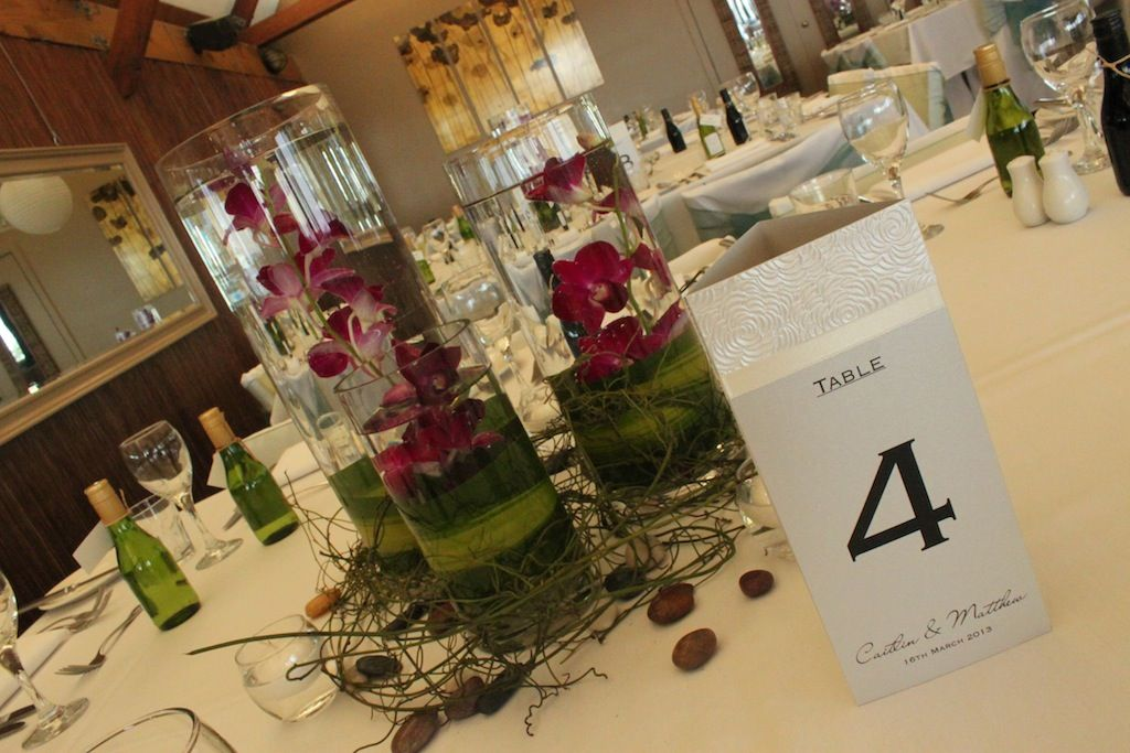 #3tieredvases #singaporeorchids #weddingcentrepeice