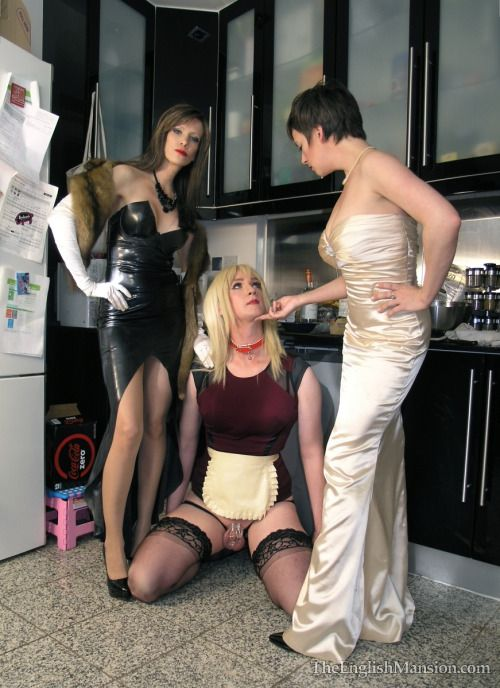 sissy maid get trained