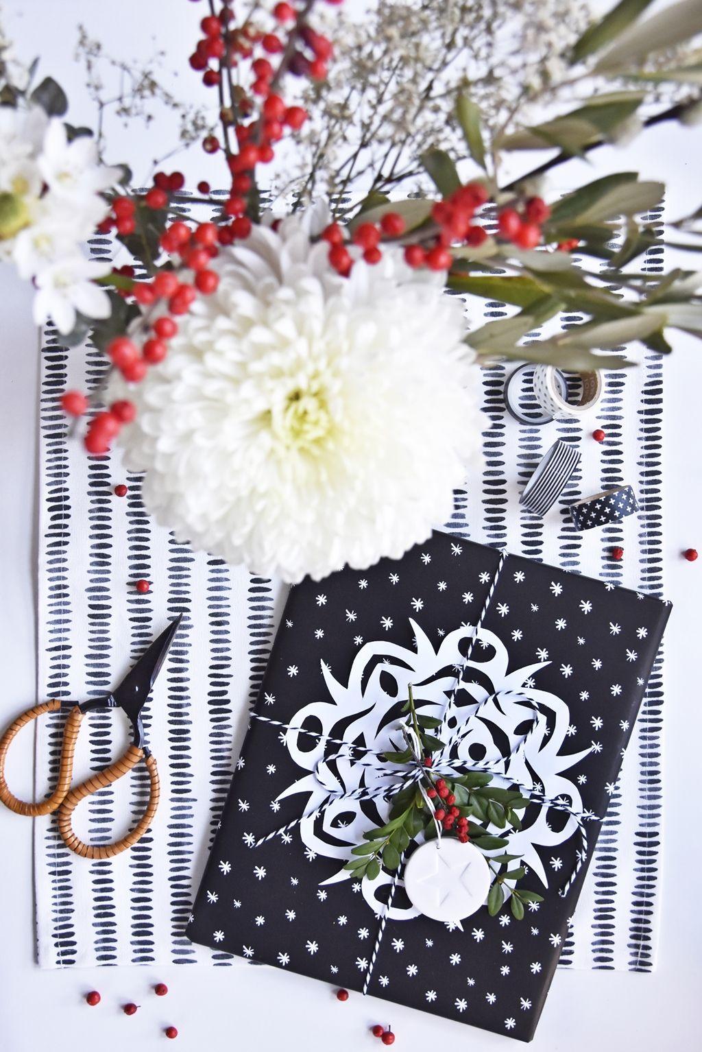 XMas DIY fabriquez de beaux emballagescadeaux de Noël