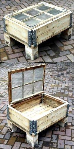 20 schönsten Holzpalette Tisch Ideen für Ihre Terrasse - Wohn Design