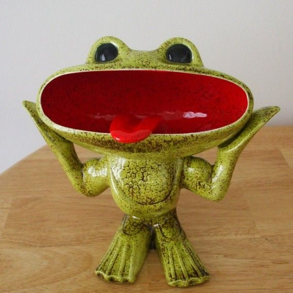 Unusual Ceramic Frogs | Add It To Your Favorites To Revisit It Later.