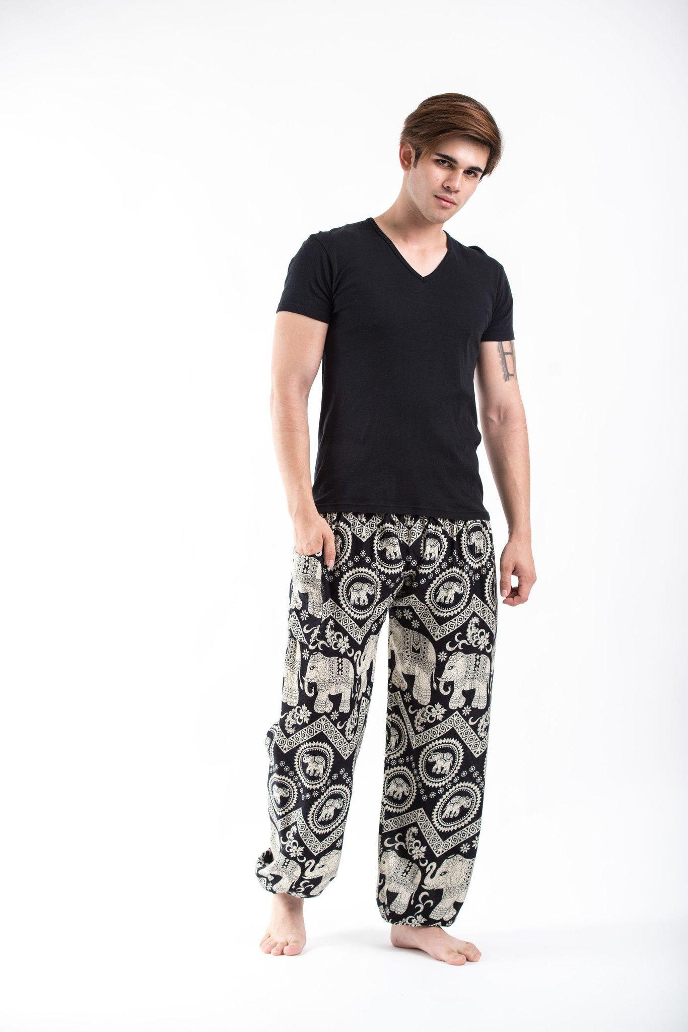 am besten authentisch große Auswahl an Farben und Designs glatt Imperial Elephant Men's Elephant Pants in Black in 2019 ...