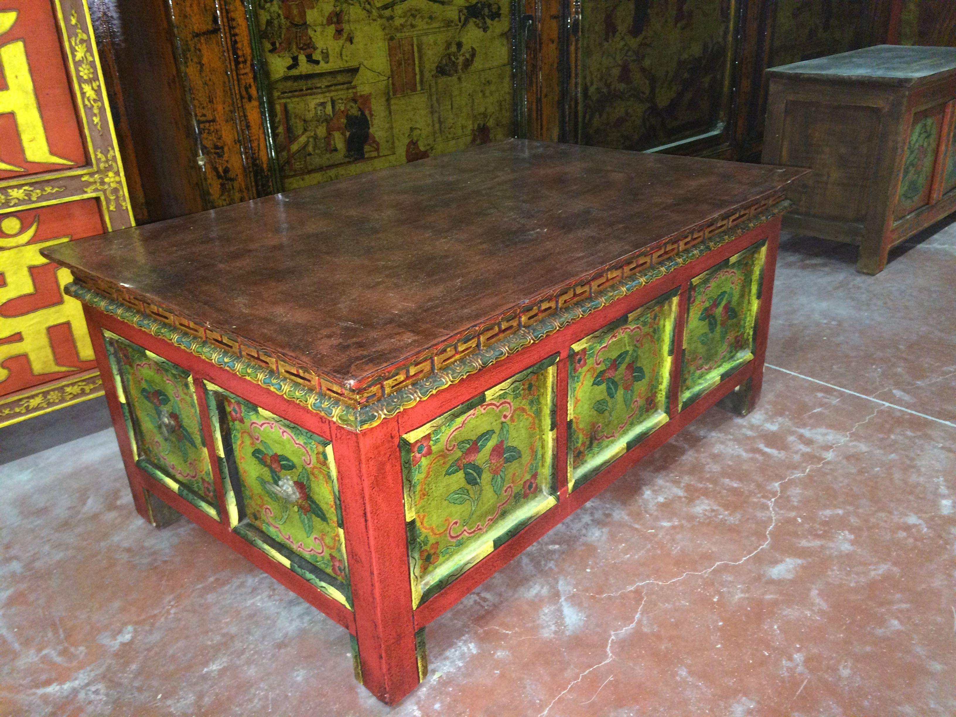Mobili decorati ~ Tibet autonomous region mobili tibet arredamento antiquariato