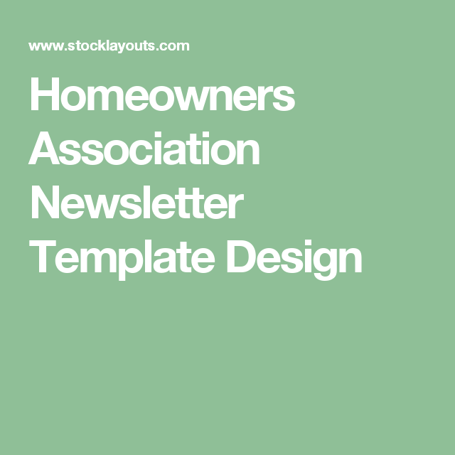 Property Management Homeowners Association Newsletter Template Design Christmas Templates Moving Tips Community