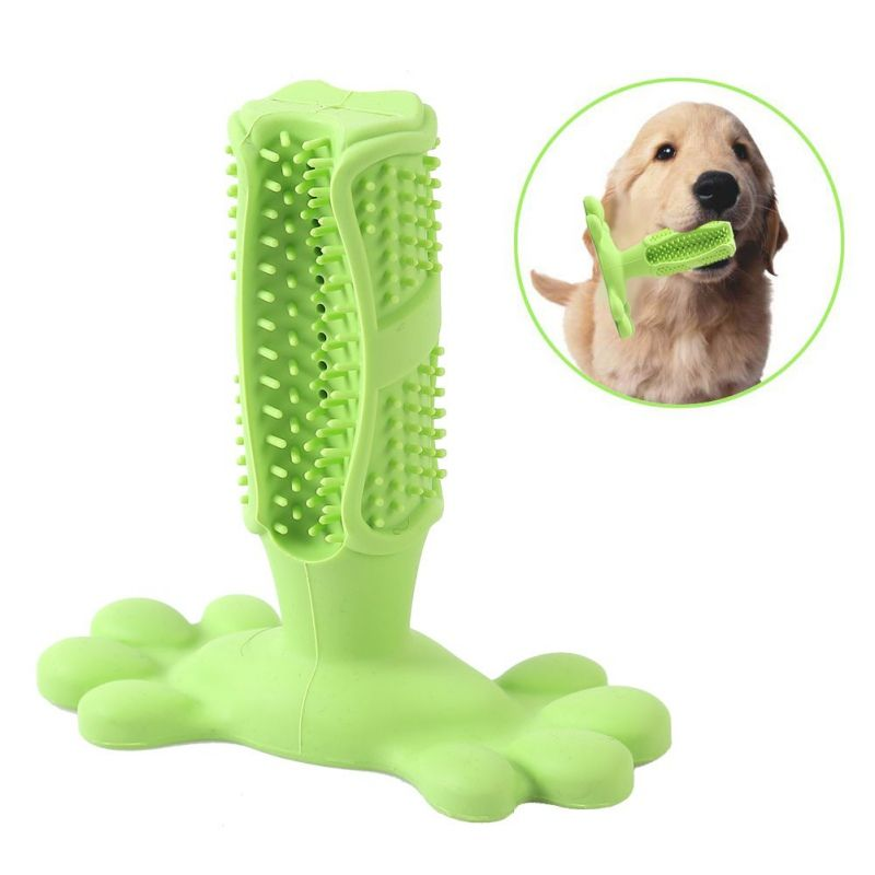 Self Dispensing Doggo Toothbrush Toy Puppy Teething Dog Toys