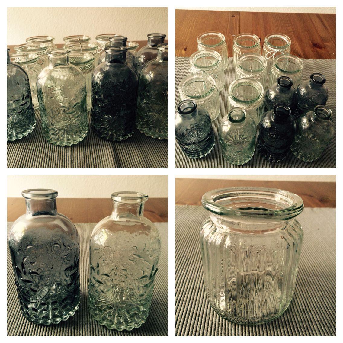 Kleine Vasen Hochzeitsdeko Vintage Faugel Event Pinterest