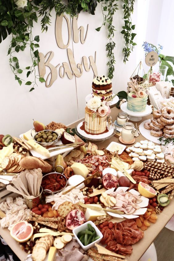 10 hot party trends for 2017 foods baby shower party grazing tables. Black Bedroom Furniture Sets. Home Design Ideas