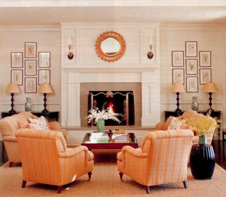 22 Gorgeous Small Keeping Room with Fireplace Ideas For ... on Fireplace Casual Living id=34317
