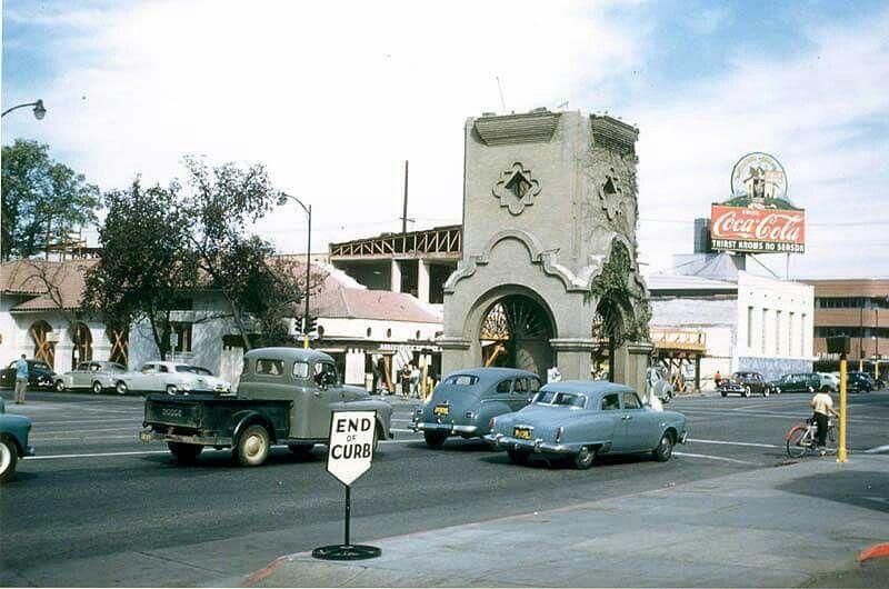 Bakersfield california earthquake 1952 clocktower
