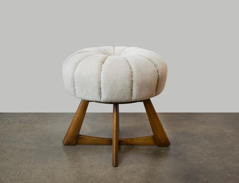 Poufs For Sale Enchanting Heywoodwakefield Sculptura Pouf Or Ottoman  Wakefield Ottomans Design Ideas