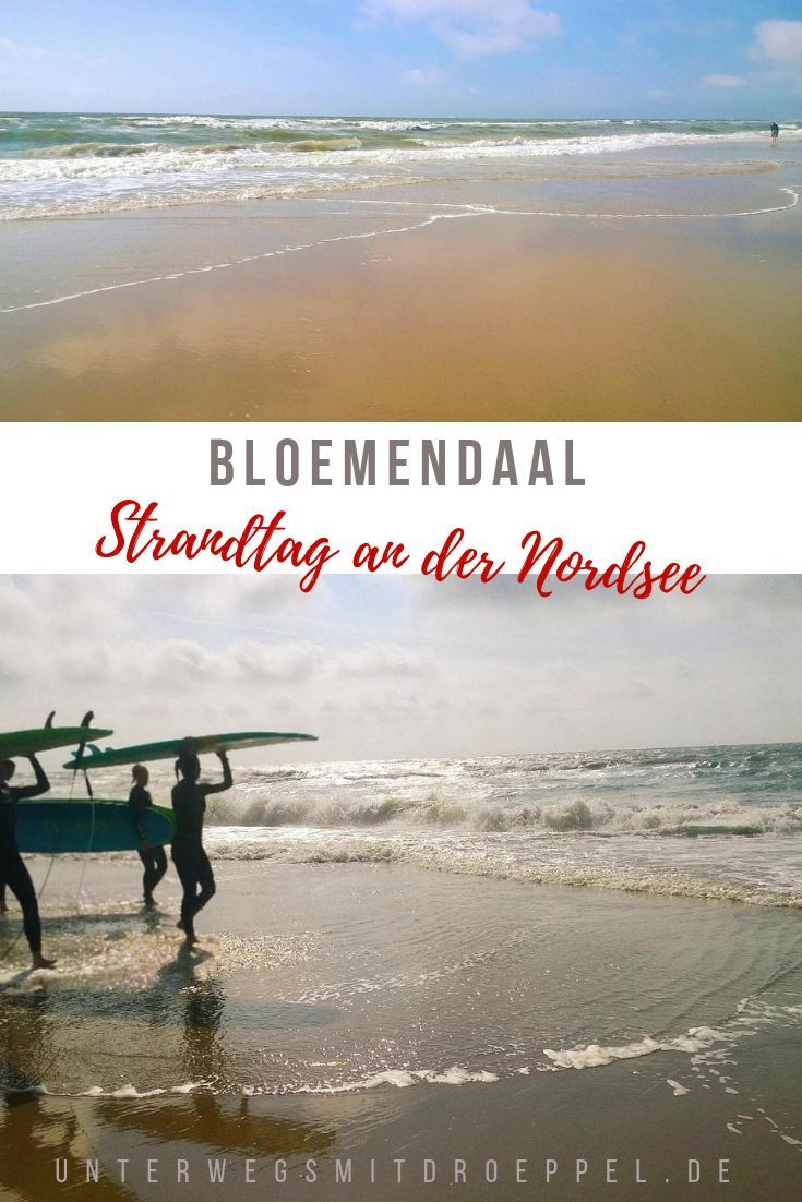 Strandtag in Bloemendaal [NL/B 2018 (mit Bildern