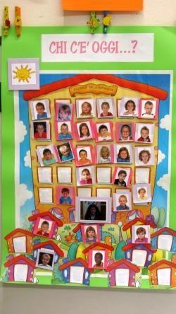 Calendario Bambini Scuola Infanzia.Risultati Immagini Per Cartellone Presenze Scuola Infanzia