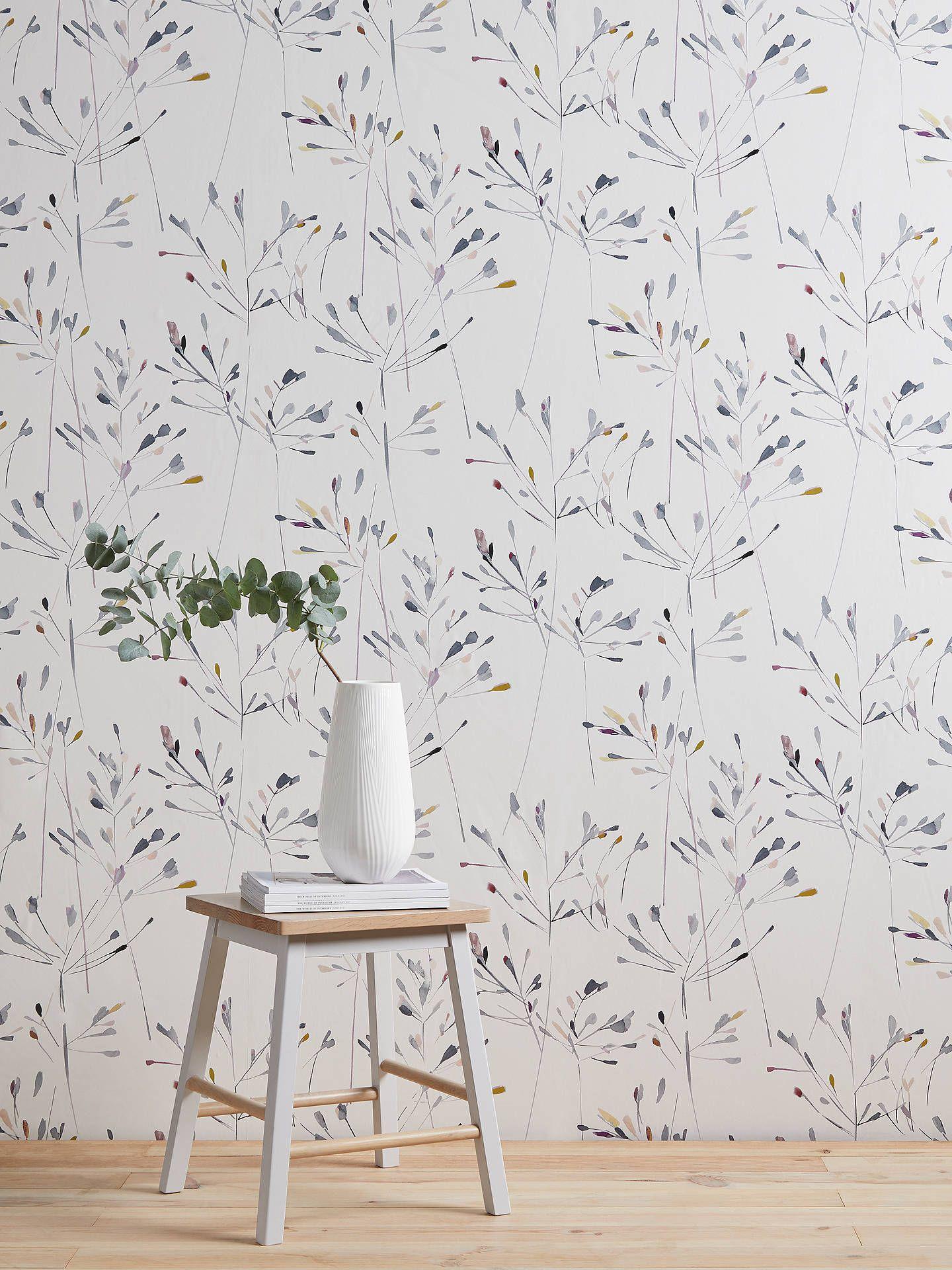John Lewis Partners Nerine Wallpaper Multi Modern Floral
