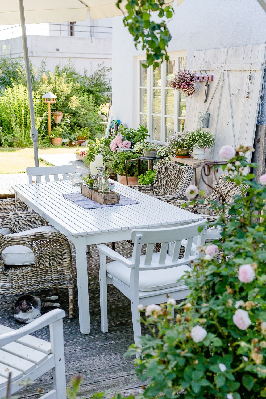 So Geht Sommer Oder Mein Sommergarten Sommergarten Garten Dekoration Diy Garten Dekoration Diy Garten Dekorati Garden Deco Cottage Garden Summer Garden