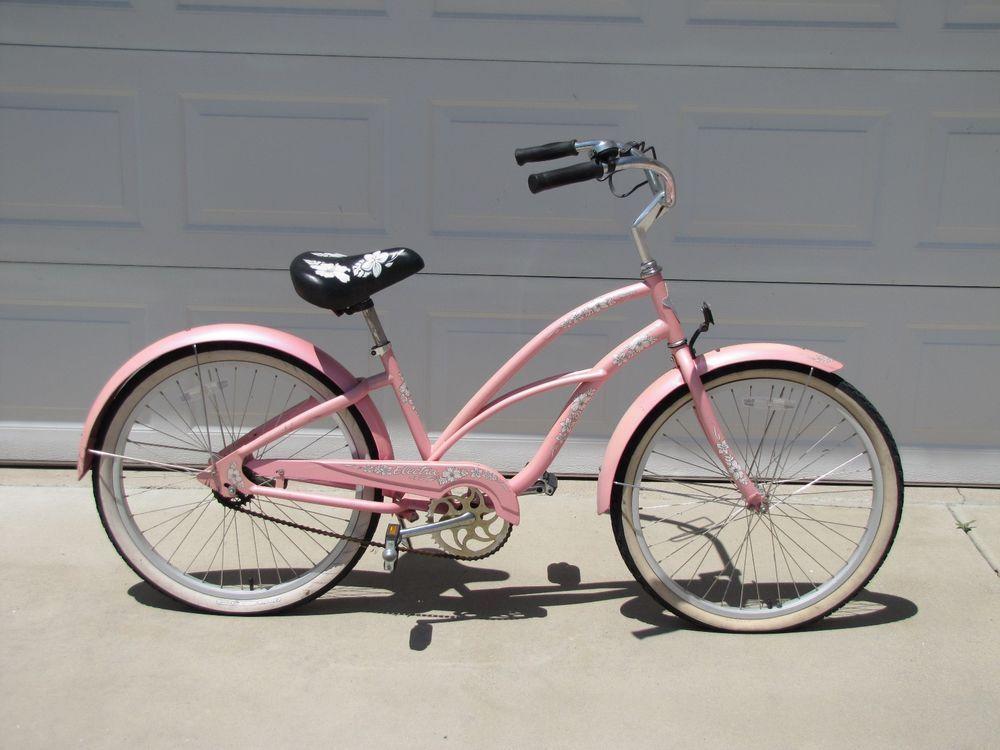 e0e1bf50df1 Girls Pink Electra Hawaii Beach Cruiser