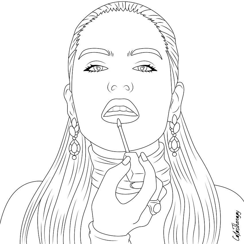 Best Coloring App For Adults Colortherapyapp On Instagram The Sneakpeek For The Next Gift O Mandala Coloring Pages Coloring Books Unique Coloring Pages