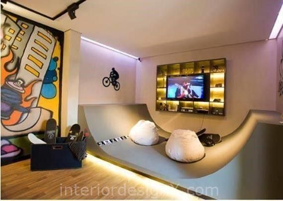 Skater Bedroom Ideas: Skater Bedroom Ideas With Cool Designs Functional Furniture Designs