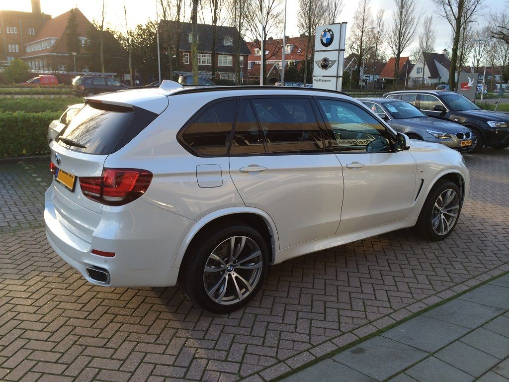 2014 Bmw X5 M Sport In Mineral White Delivered In The Netherlands
