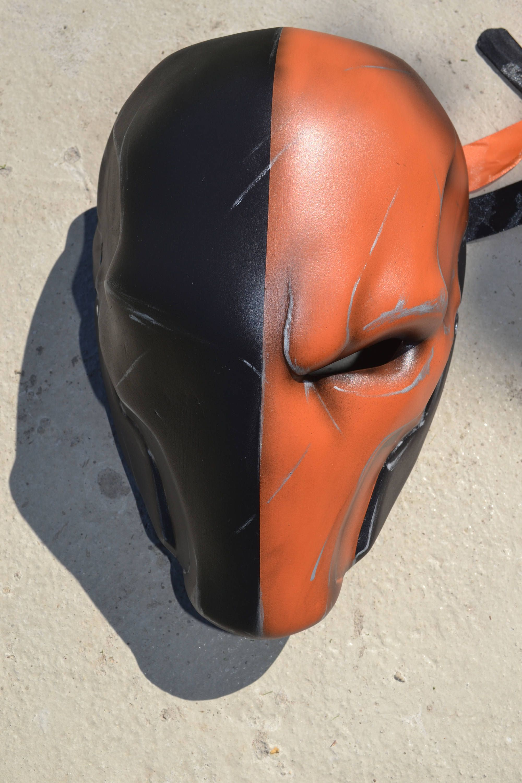 painted 1//6 Scale Deathstroke One Eye Mask