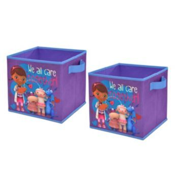 Disney Doc McStuffins 2-pk Collapsible Storage Cubes Home