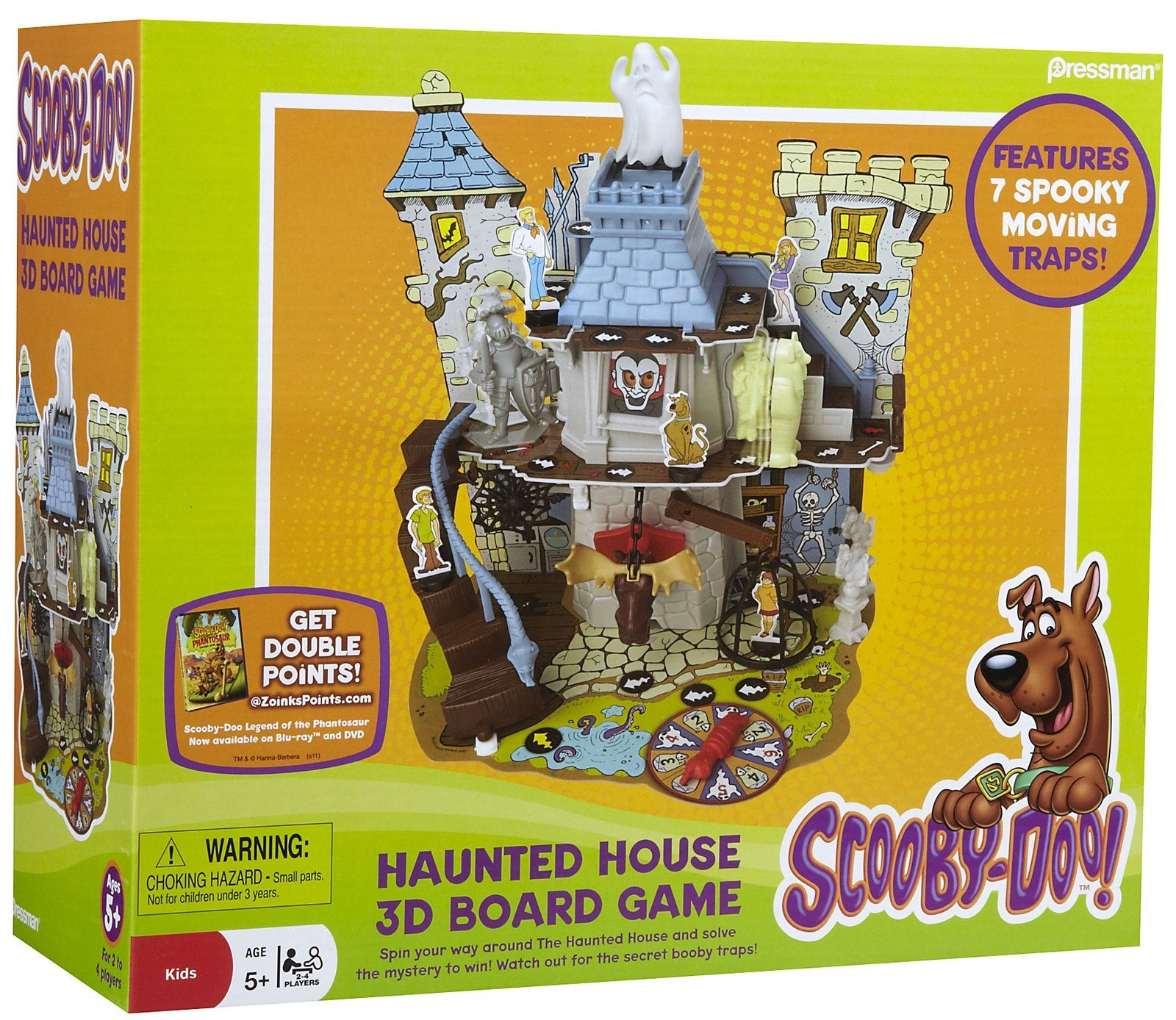 Pressman Toys ScoobyDoo! Haunted House Game