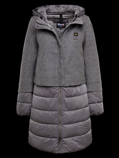 Grey down coat | Blauer | Ideas | Pinterest | Gray, Coats and ...