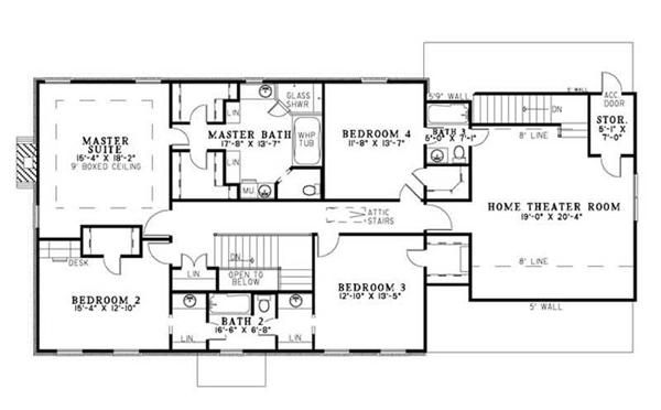 Best 4 Bedrm 3099 Sq Ft Luxury House Plan 153 1841 House Plans 640 x 480