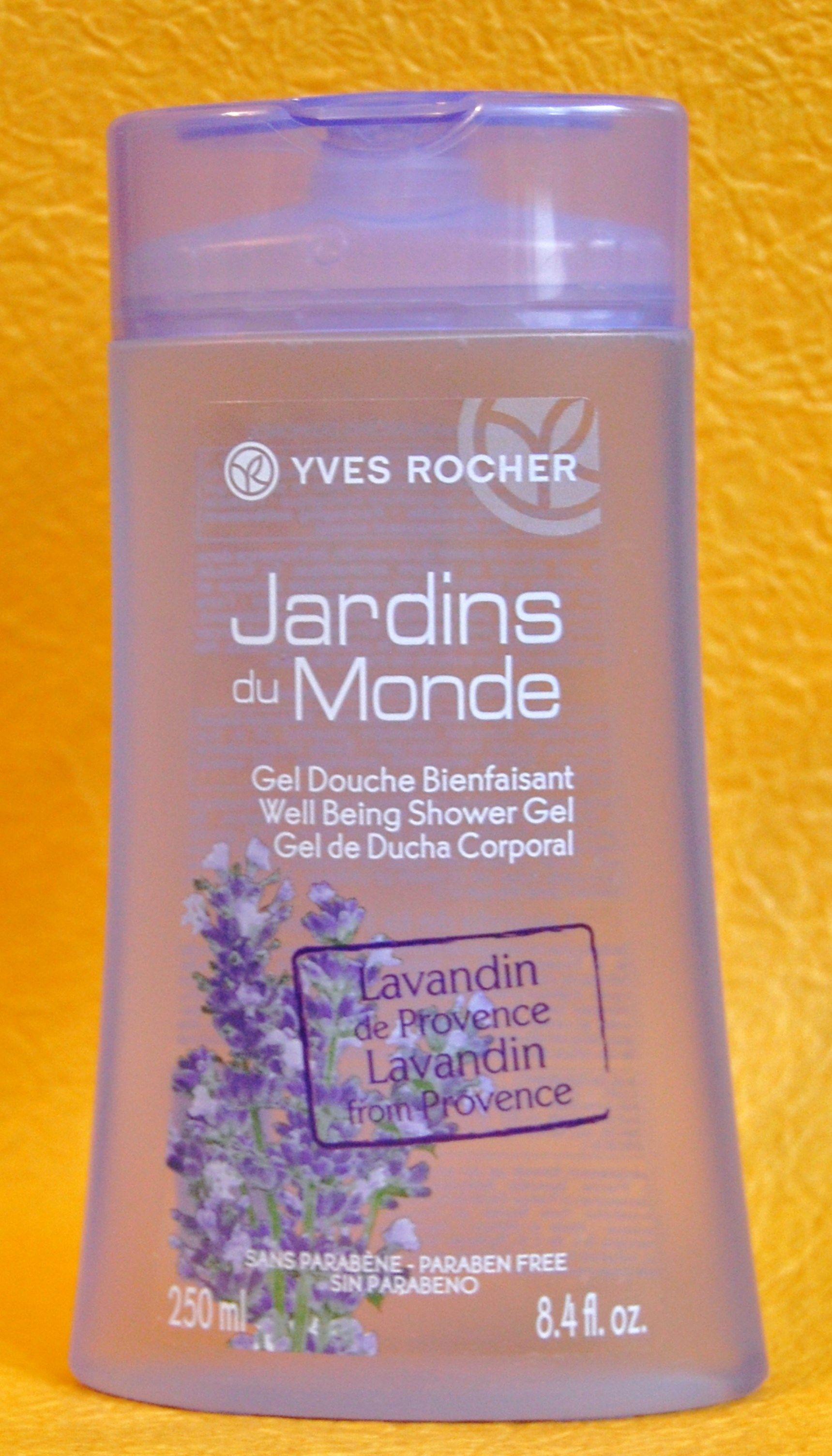 Yves Rocher Jardins Du Monde Shower Gel Paraben Free Products