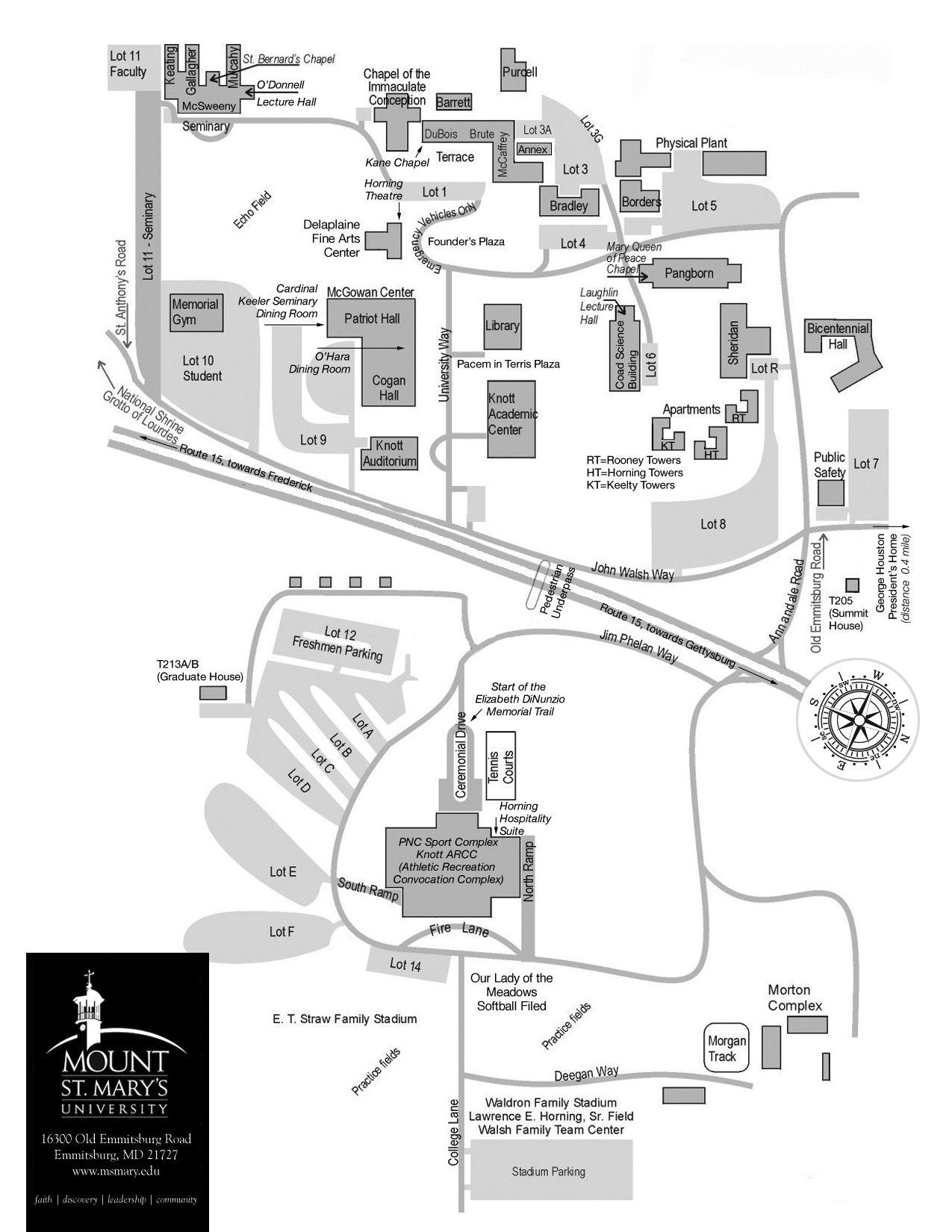 st marys campus map Campus Map Campus Map Campus Virtual Tour st marys campus map