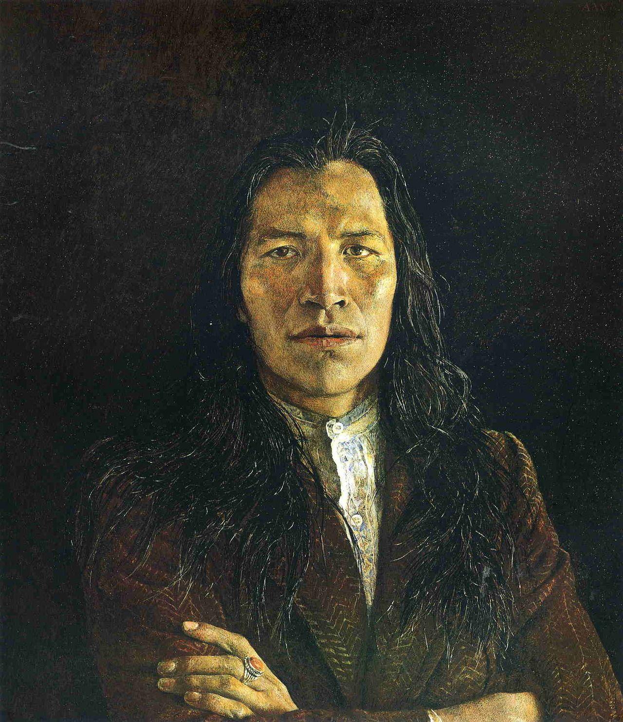 Andrew Wyeth ~ Nogeeshik, 1972