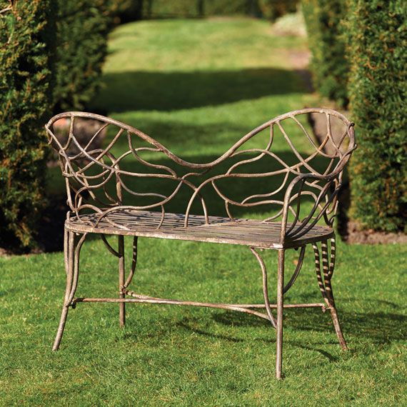 Oka Garden Furniture Tendril metal garden loveseat from oka 199 property pinterest tendril metal garden loveseat from oka 199 workwithnaturefo