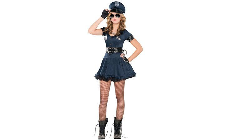 JUST SAY NO The u0027Locked n Loaded Copu0027 Halloween costume for teen girls  sc 1 st  Pinterest & The Worst Halloween Costumes for Teen Girls | Cop halloween costume ...